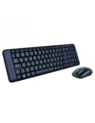 Logitech teclado y raton mk220...