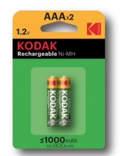 Pila recargable Kodak AAA