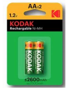Pila recargable Kodak AA